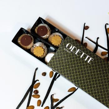 12 Choux Chocolat Vanille...
