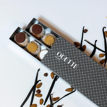 18 Choux Chocolat Vanille...