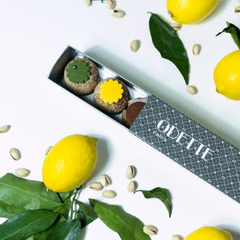 9 Choux Pistache Citron...