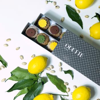 18 Choux Pistache Citron...